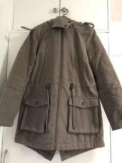 Winter Jacket with Fleece & Hood
