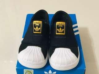 🚚 二手真品 adidas Superstar 360 Summer SMR 黑白 童鞋 球鞋