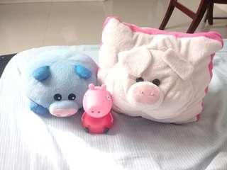 Pig stuff toys/Pillow/nightlight