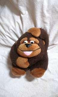 Vintage Plush Monkey Toy