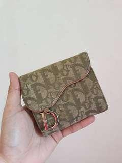 Authentic Christian Dior Monogram Bifold Purse/Wallet