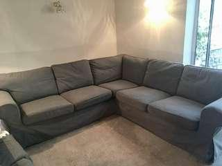 Ektorp Sectional sofa