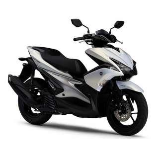 Yamaha Aerox 155 Keyless Arrive D/P $500 or $0 With out insurance (Terms and conditions apply. Pls call 67468582 De Xing Motor Pte Ltd Blk 3006 Ubi Road 1 #01-356 S 408700.