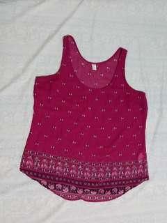 Old Navy Seethrough Sleeveless Summer top/ Good as New