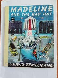 Penguin books Ltd. Madeline and the bad hat children's book. Written and illustrated by Ludwig Bemelmans.