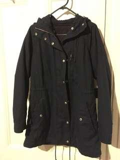 GAP navy jacket (M)