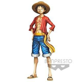 Pre-Order for One Piece Grandista Monkey D. Luffy Manga Dimensions