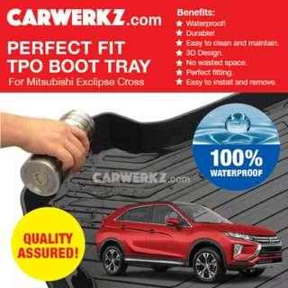[SG Best] Mitsubishi Eclipse Cross 2017-2019 Perfect Fitting Most Durable TPO Boot Tray