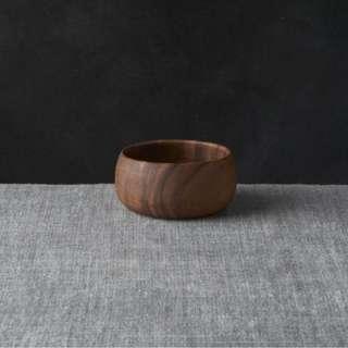 Crate & Barrel Tondo Wooden Bowls