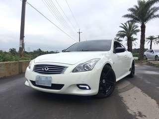 2010年 G37S 白 3.7 熱門車中古車二手車