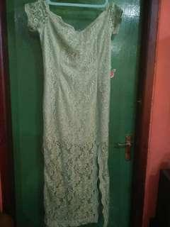 dress panjang sabrina sexy brukat