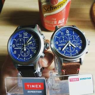 TIMEX  EXPEDITION 皮款手錶 現貨