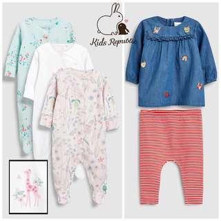 KIDS/ BABY - Sleepsuit/ Dress/ Leggings/ Set