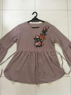 Dolly Blouse with belt