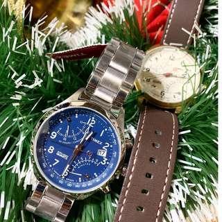 Timex iq flyback chronograph 現貨