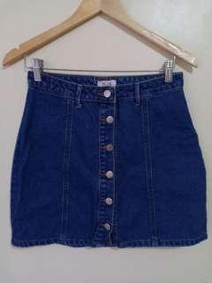 True Love Denim Skirt