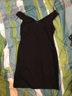 Topshop Off Shoulder Dress