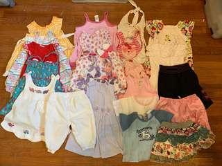 Girls Clothes Bundle (1-4yrs)