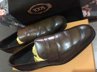 Tods loafer leather (men shoes)