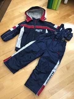 小童滑雪套裝(適合116-122cm 高,5-6歲)Snow Suit for Kids