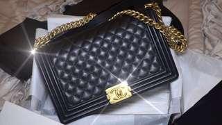 RUSH!!⚡️Pre loved⚡️Chanel Le boy Bag