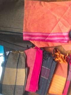 Cotton punjabi/saree fabrics
