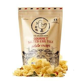 🚚 ITE College East Learning Journey: Golden Duck Salted Egg Potato Chips