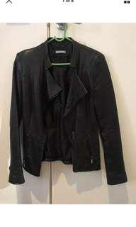 Kookai leather jacket size 34 (fits size 8)