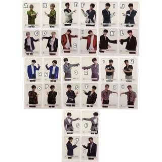 Monsta X The Clan Final Chapter Transparent Photocards