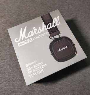 🚚 Marshall Major III Bluetooth Headphones