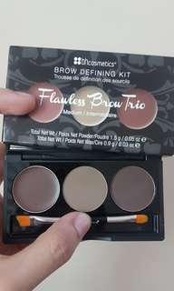 BH Cosmetics Flawless Brow Trio in Medium - Brow Defining Kit