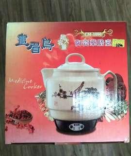 🚚 陶瓷藥膳壺