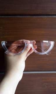 Kacamata Half Orange