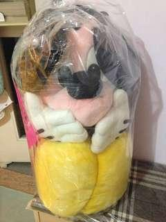 米奇大型公仔(已洗過)清屋急放賣,一直都用膠袋封住來裝飾。朋友送,原價正品過千元。