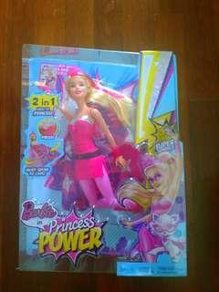 Brand New Barbie 2in1 Princess Power