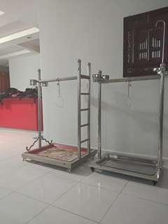 Macaw stand