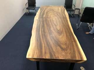 South America walnut Solid wood office table