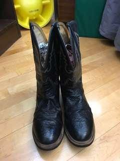 男裝 古著 牛仔靴 Men Cowboy Boots 購自美華氏