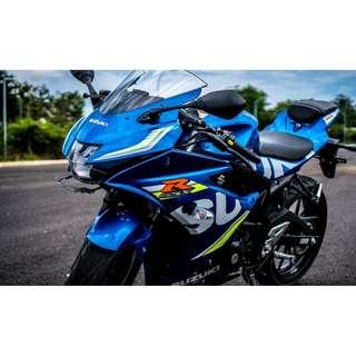 Suzuki GSXR150 Open Booking Now D/P $500 or $0 With out insurance (Terms and conditions apply. Pls call 67468582 De Xing Motor Pte Ltd Blk 3006 Ubi Road 1 #01-356 S 408700.