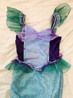 BN Disney Princess Mermaid Party Dress 4Y