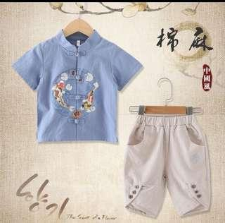 BN CNY attire - 2 piece set (boy)