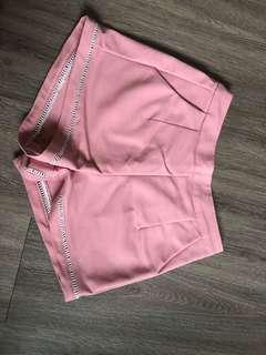 WTS high waisted pink shorts