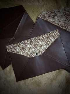 BIG Leather (Genuine) Envelope