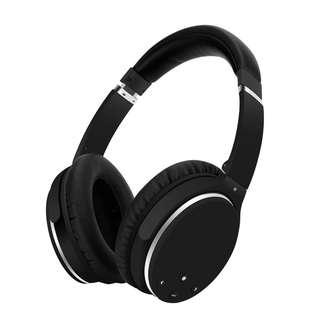 1890. Srhythm NC25- Over-Ear Headphones ANC Foldable Hi-Fi Stereo 185g Super Light with Aireplane Plug for Smart Phone PC PS4 and all Bluetooth Device (NC25) by Srhythm
