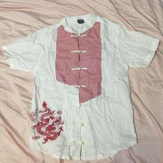 Chinese Linen Top for Girl 11-12Y