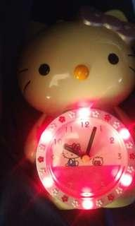 Hello Kitty. No brand from Japan. Clock and Alarm Clock.