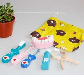 (PO) Pretend Play Montessori Dentist Set