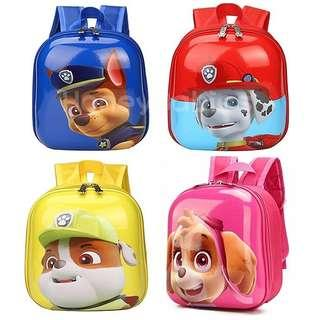 Paw Patrol Hard Case Egg Shell Preschool Children Toddler Baby Backpack Educational School Bag Birthday Goodie Bags Gifts