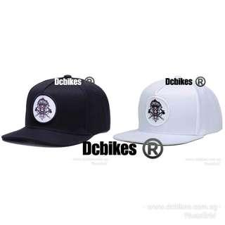 🆕! Indian Skeleton Chief Baseball Snapback Cap Hat #Dcbikes                                                 ( Colours Available : Black Or White )