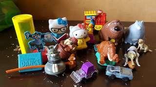 Random/Loose McDonald's toys